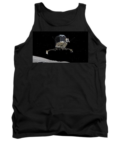 Tank Top featuring the photograph Philae Lander Descending To Comet 67pc-g by Science Source