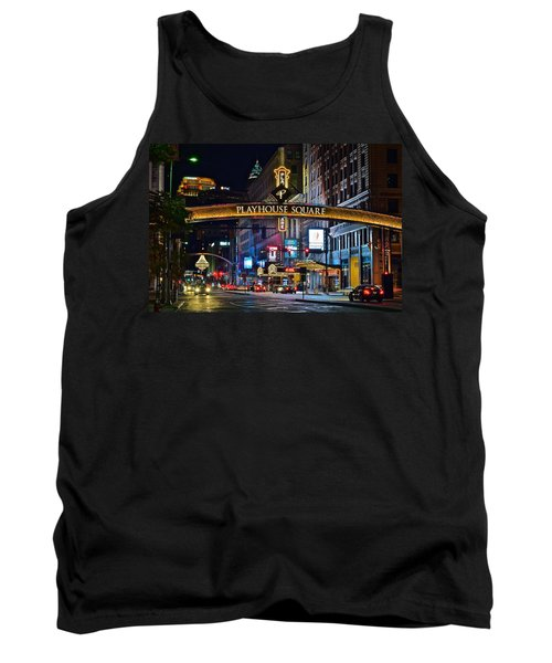 Playhouse Square Tank Top by Frozen in Time Fine Art Photography