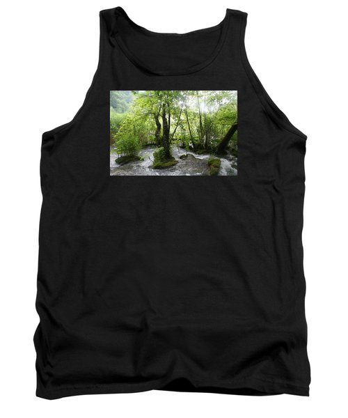 Tank Top featuring the photograph Plitvice Lakes by Travel Pics