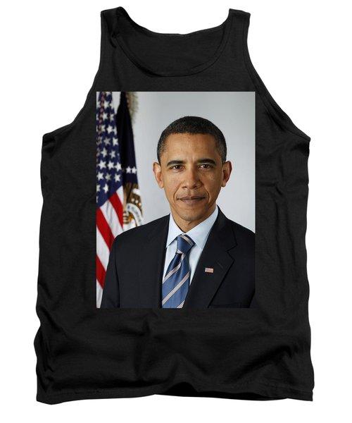 President Barack Obama Tank Top by Pete Souza