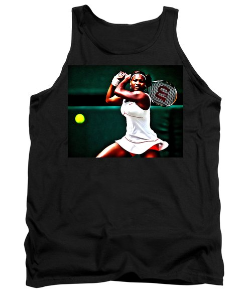 Serena Williams 3a Tank Top by Brian Reaves