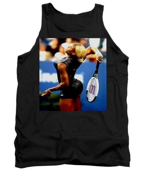 Serena Williams Catsuit II Tank Top by Brian Reaves