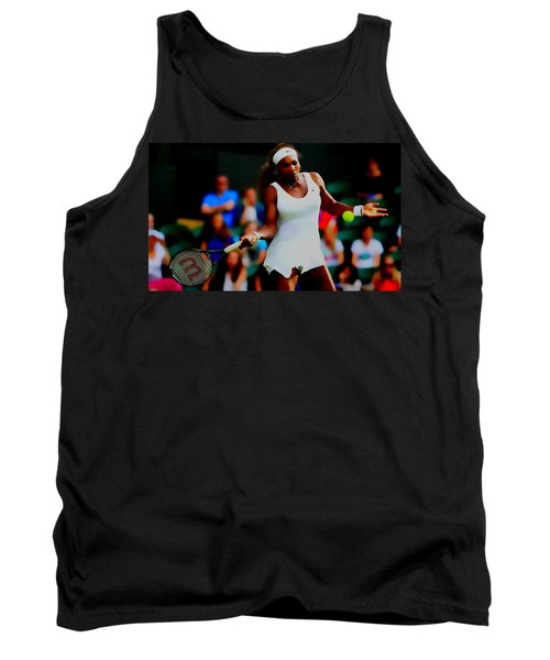 Serena Williams Making It Look Easy Tank Top by Brian Reaves