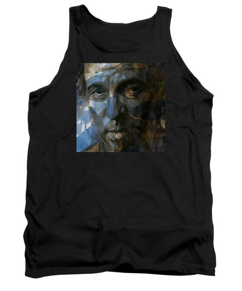 Shackled And Drawn Tank Top by Paul Lovering