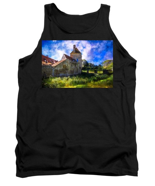 Spring Romance In The French Countryside Tank Top by Debra and Dave Vanderlaan