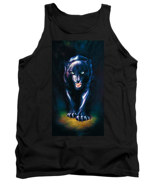 Stalking Panther Tank Top by Andrew Farley