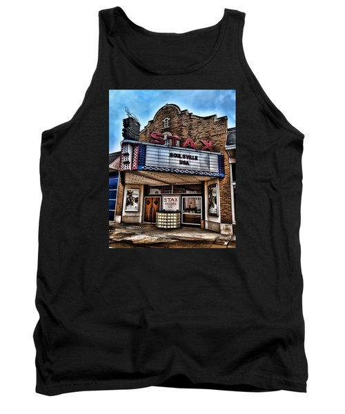 Stax Records Tank Top by Stephen Stookey