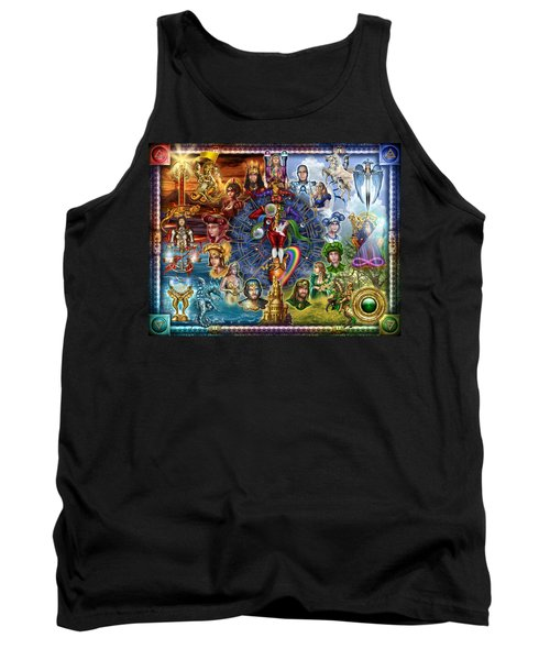 Tarot Of Dreams Tank Top by Ciro Marchetti