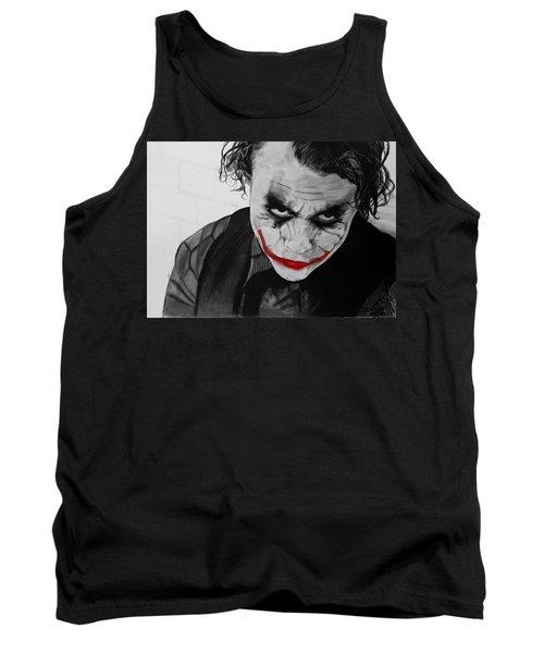The Joker Tank Top by Robert Bateman