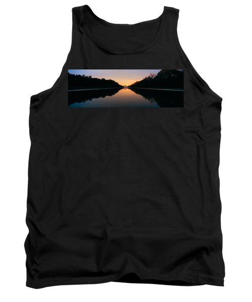 The Lincoln Memorial At Sunset Tank Top by Panoramic Images
