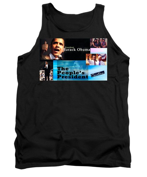 The People's President Still Tank Top by Terry Wallace