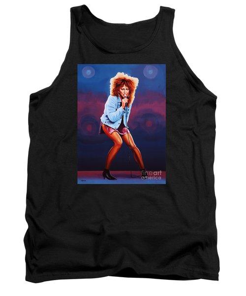 Tina Turner Tank Top by Paul Meijering