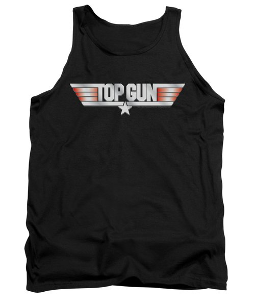 Top Gun - Logo Tank Top by Brand A