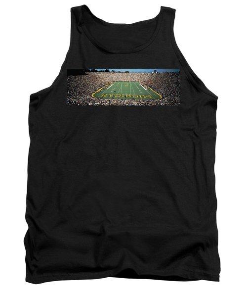 University Of Michigan Stadium, Ann Tank Top by Panoramic Images