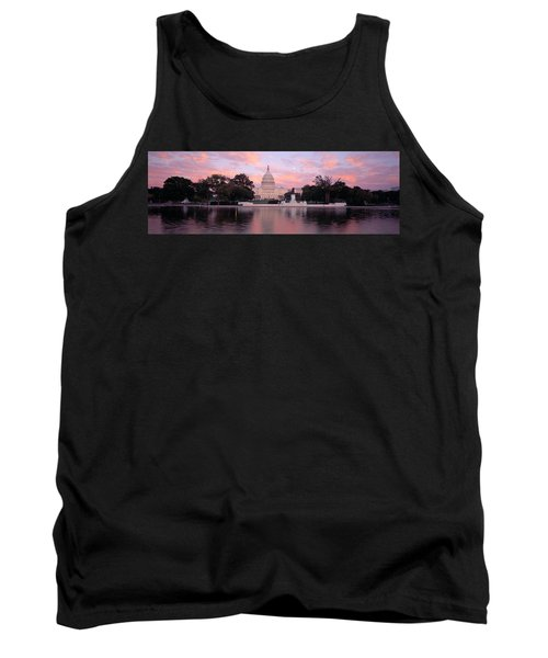 Us Capitol Washington Dc Tank Top by Panoramic Images