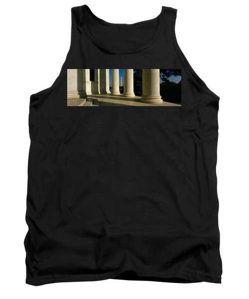 Usa, District Of Columbia, Jefferson Tank Top by Panoramic Images