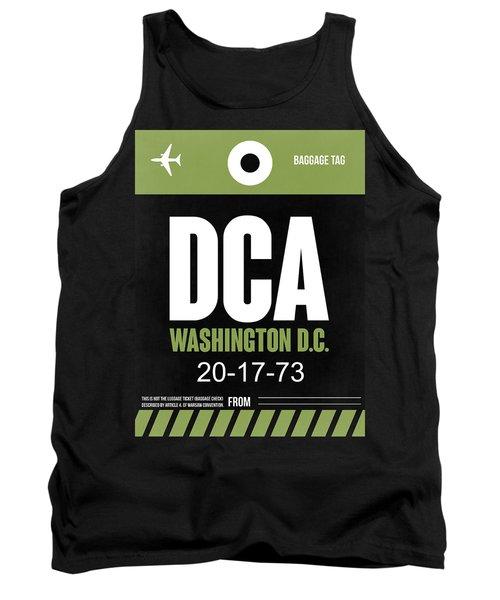 Washington D.c. Airport Poster 2 Tank Top by Naxart Studio