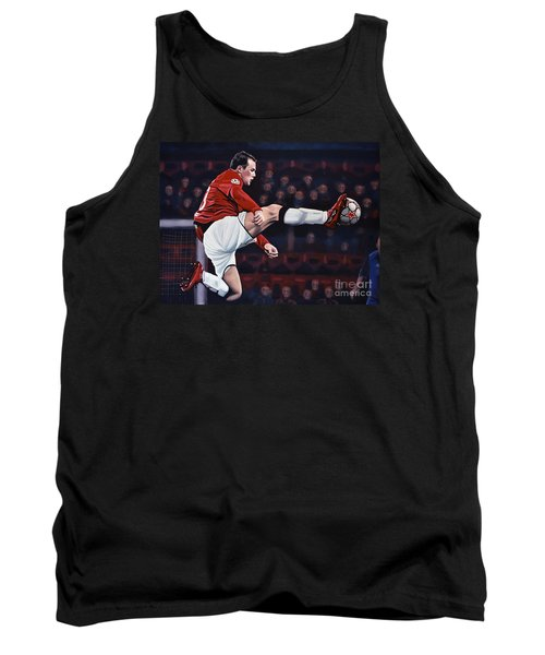 Wayne Rooney Tank Top by Paul Meijering