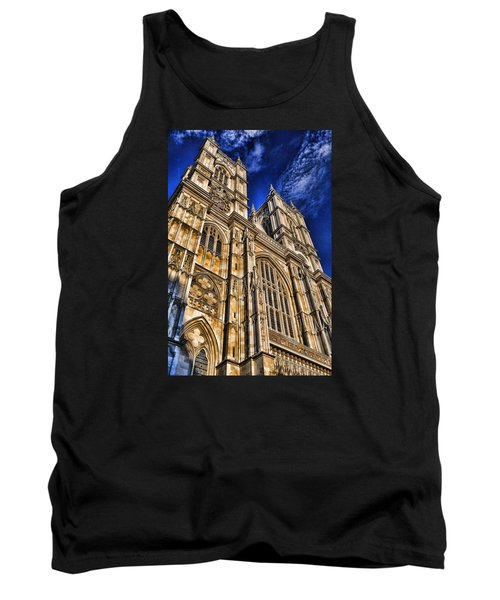 Westminster Abbey West Front Tank Top by Stephen Stookey