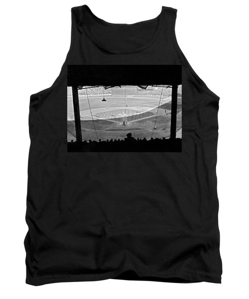 Yankee Stadium Grandstand View Tank Top by Underwood Archives