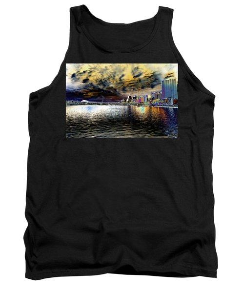 City Of Color Tank Top by Douglas Barnard