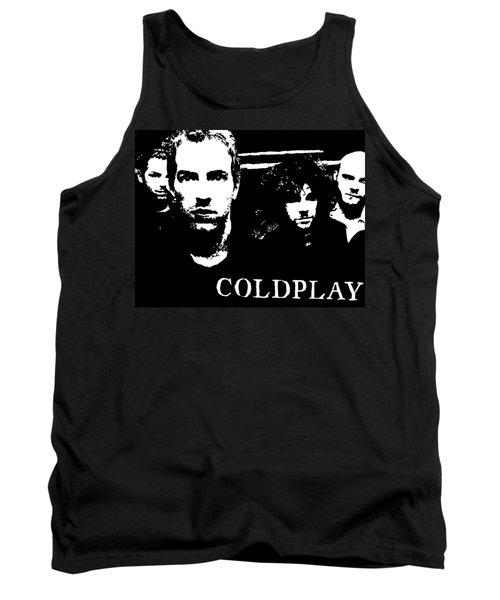 Coldplay Tank Top by Paula Sharlea