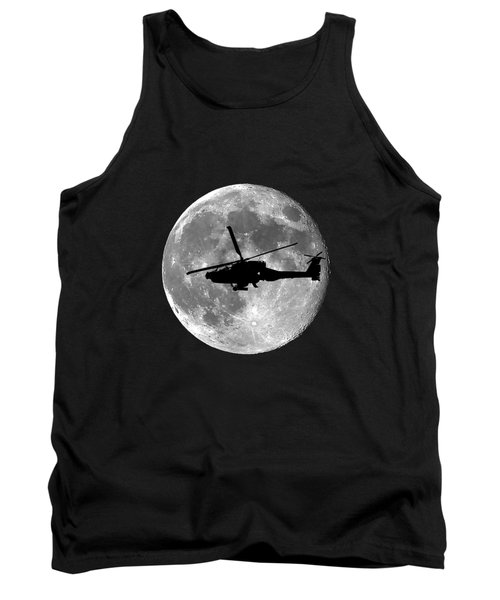 Apache Moon .png Tank Top by Al Powell Photography USA