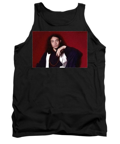 Ezra Miller Poster Tank Top by Best Actors
