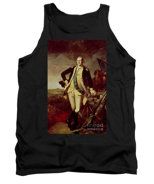 Portrait Of George Washington Tank Top by Charles Willson Peale
