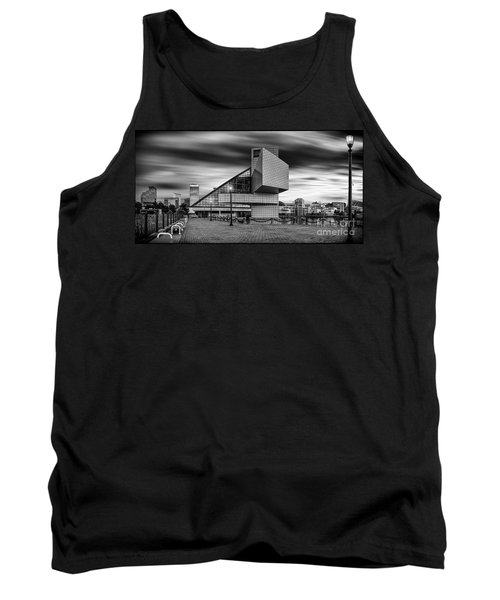 Rock And Roll Hall Of Fame  Tank Top by James Dean