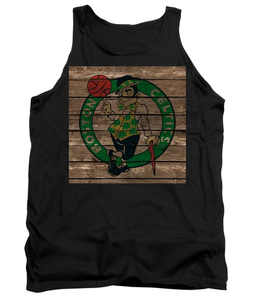The Boston Celtics 1e Tank Top by Brian Reaves