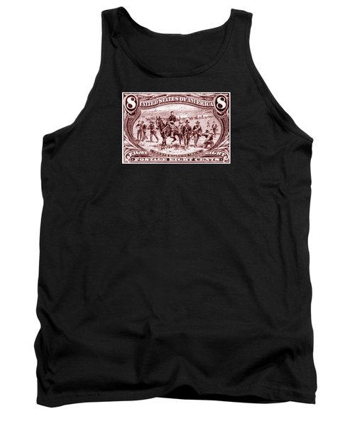 1898 Troops Guard Wagon Train Tank Top by Historic Image