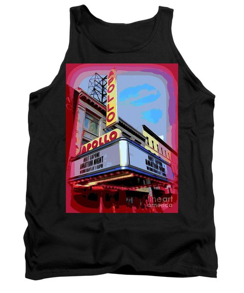 Amateur Night At The Apollo Tank Top by Ed Weidman