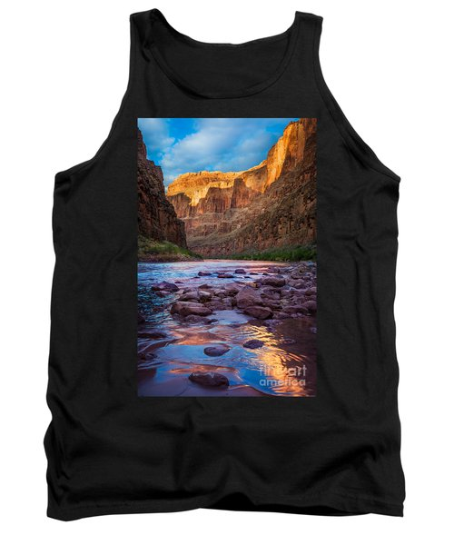 Ancient Shore Tank Top by Inge Johnsson