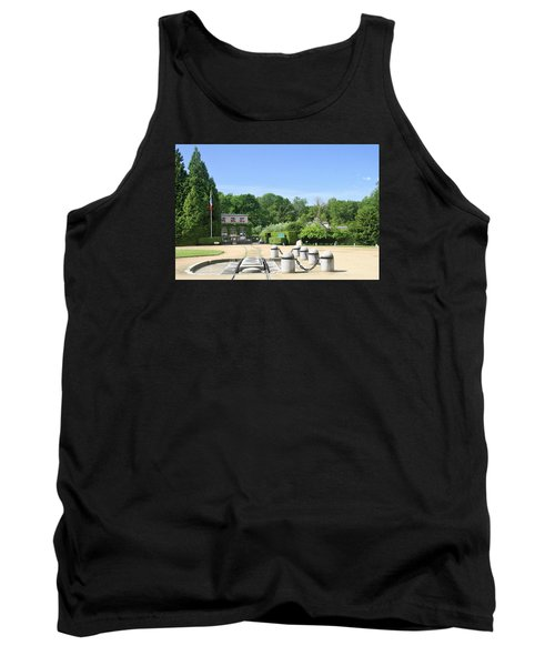 Tank Top featuring the photograph Armistice Clearing In Compiegne by Travel Pics