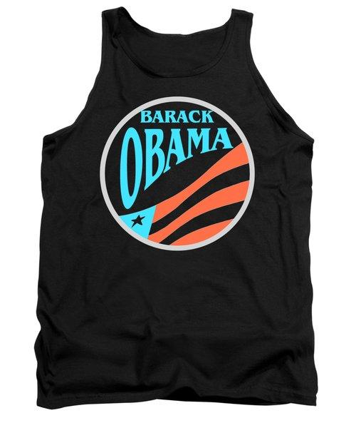 Barack Obama - Tshirt Design Tank Top by Art America Online Gallery