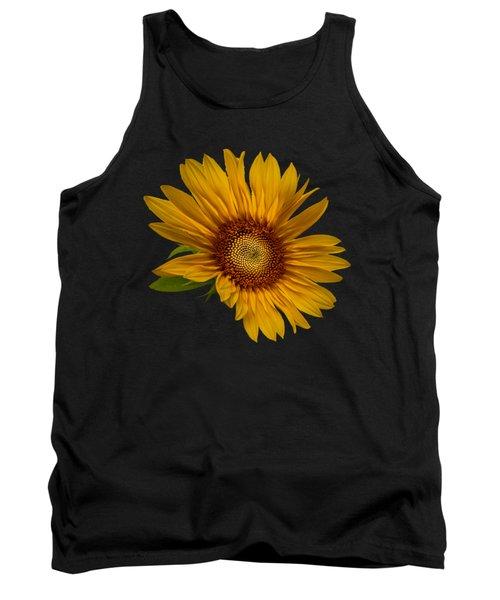 Big Sunflower Tank Top by Debra and Dave Vanderlaan