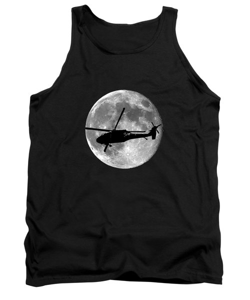 Black Hawk Moon .png Tank Top by Al Powell Photography USA