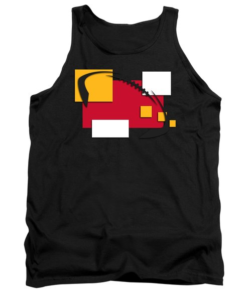 Chiefs Abstract Shirt Tank Top by Joe Hamilton