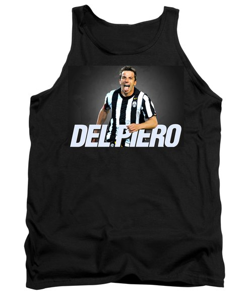 Del Piero Tank Top by Semih Yurdabak