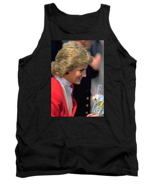 Tank Top featuring the photograph Diana Princess Of Wales by Travel Pics