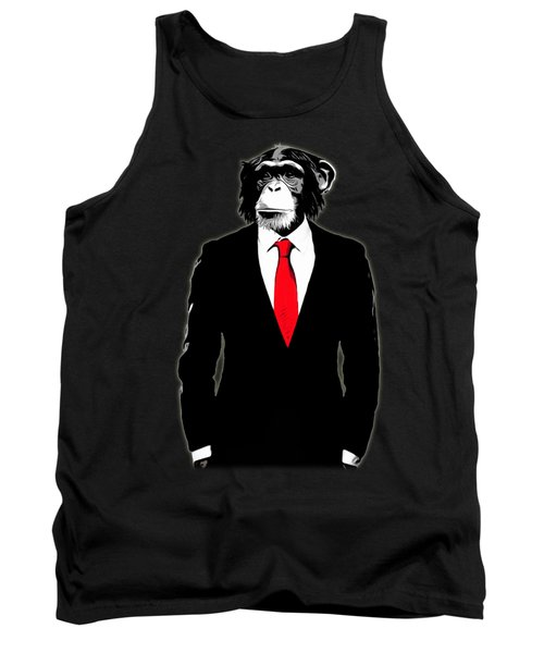 Domesticated Monkey Tank Top by Nicklas Gustafsson