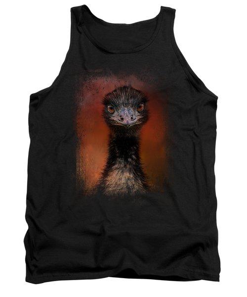 Emu Stare Tank Top by Jai Johnson