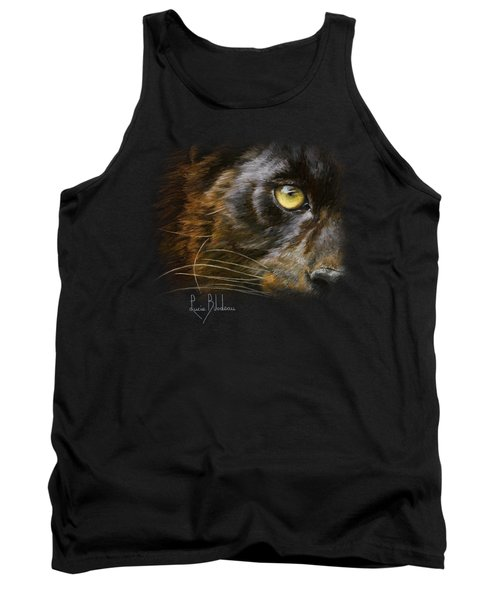 Eye Of The Panther Tank Top by Lucie Bilodeau