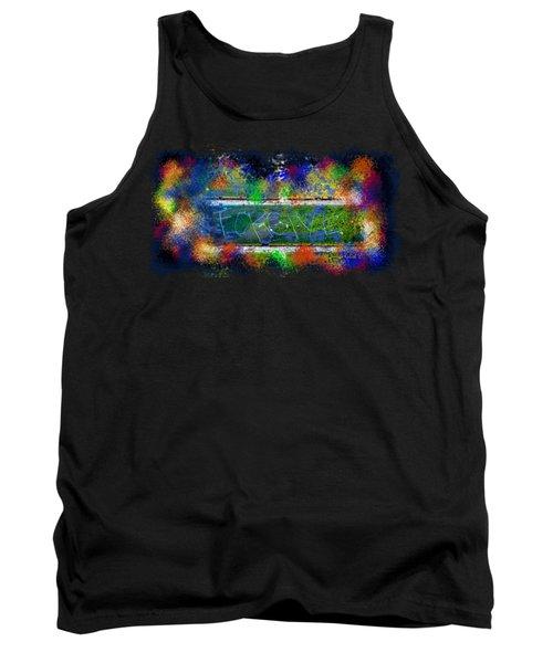 Forgive Brick Tshirt Tank Top by Tamara Kulish