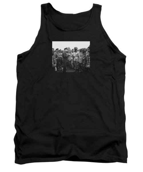 General Eisenhower On D-day  Tank Top by War Is Hell Store