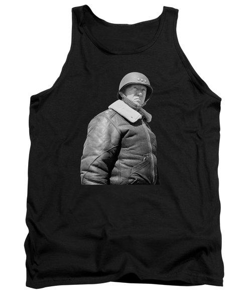 General George S. Patton Tank Top by War Is Hell Store
