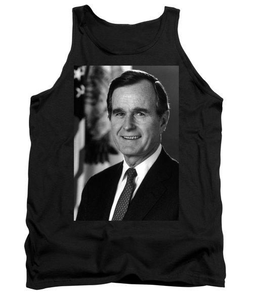 George Bush Sr Tank Top by War Is Hell Store