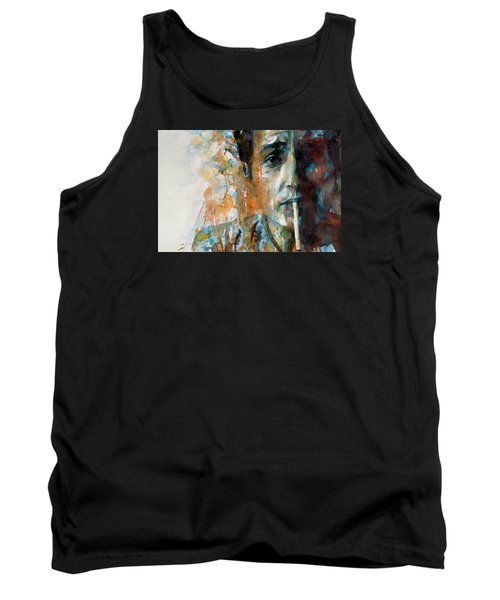 Hey Mr Tambourine Man @ Full Composition Tank Top by Paul Lovering
