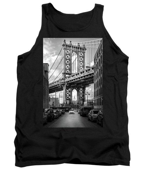 Iconic Manhattan Bw Tank Top by Az Jackson